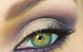 Смоки айс — техника для зеленых глаз