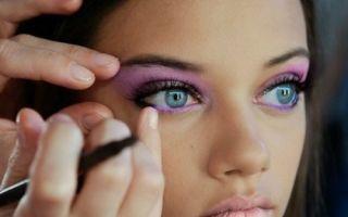 Подбор теней для серо-голубых глаз