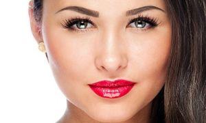 Нанесение макияжа для круглого лица