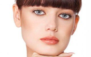 Виды макияжа для серых глаз и темных волос