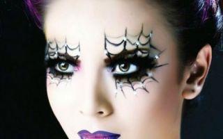 Варианты макияжа на Хэллоуин для девушек