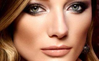 Смоки айс: макияж для серо-голубых глаз