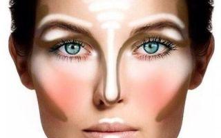 Способы коррекции лица макияжем