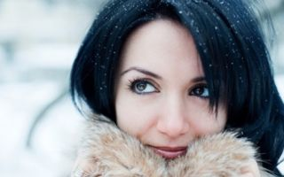 Секреты ухода за кожей лица зимой