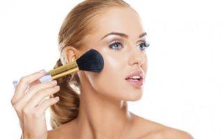 Как правильно наносить разные виды пудры на лицо