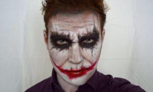 Макияж в стиле Джокера на Хэллоуин