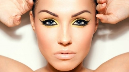 интересный макияж