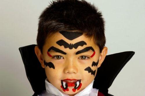 детский макияж вампира