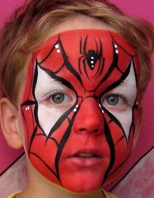 spider man на хэллоуин для детей