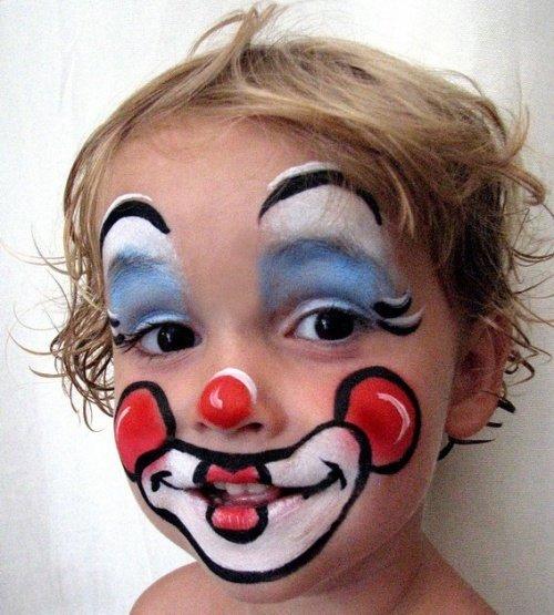 весёлый клоун на Helloween