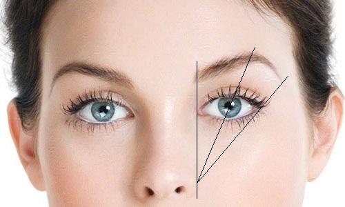 три линии на лице
