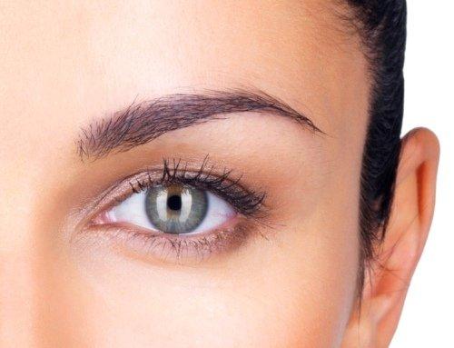 перманентный макияж глаз с эффектом растушёвки