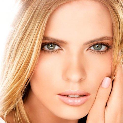 макияж серых глубоко посаженных глаз