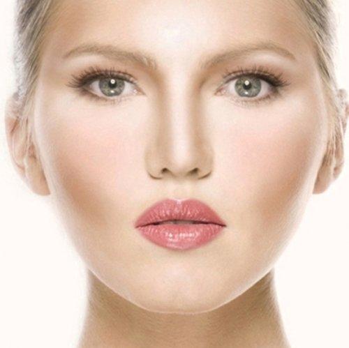 делаем лицо худее при помощи косметики