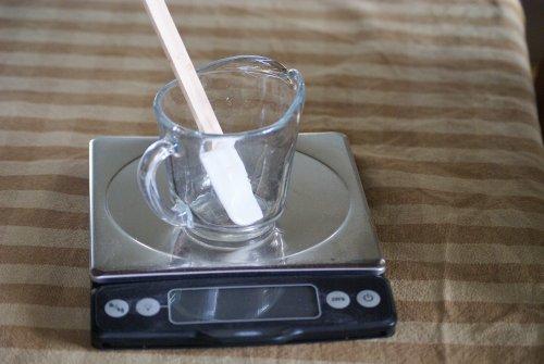кухонные весы с кружкой
