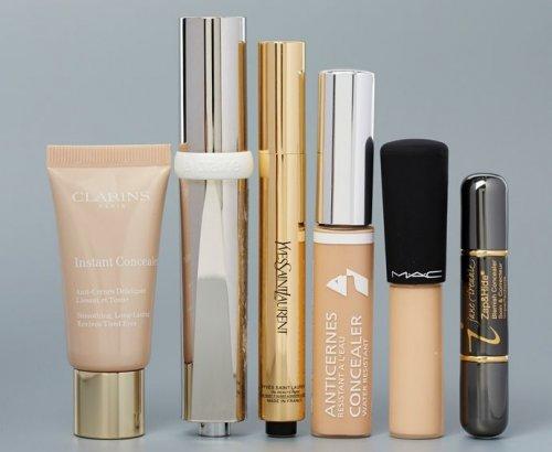 косметические средства в разных упаковках
