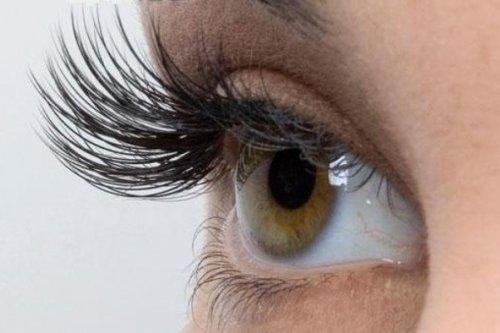 эффектный изгиб волосков