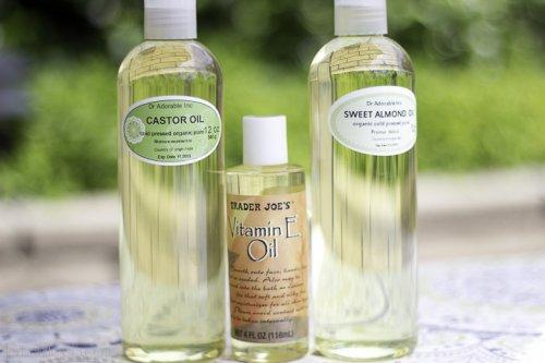 три вида масла для роста ресниц