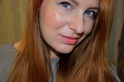 заинтересованный взгляд голубых глаз
