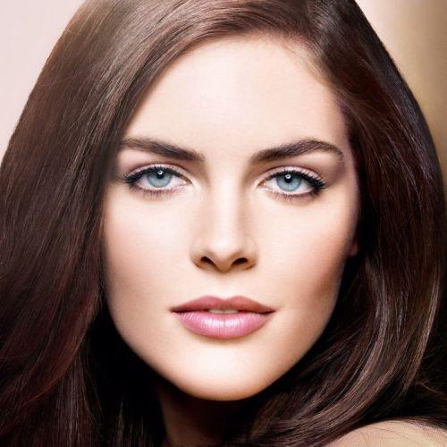 дневной образ для серо-голубых глаз