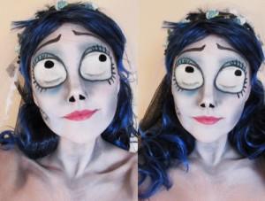 мультяшные глаза мёртвой невесты