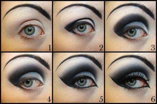 шесть шагов по созданию готических глаз