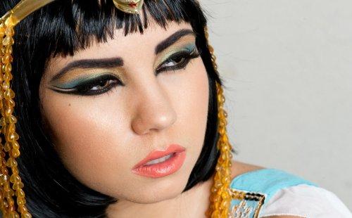 макияж египетской царицы