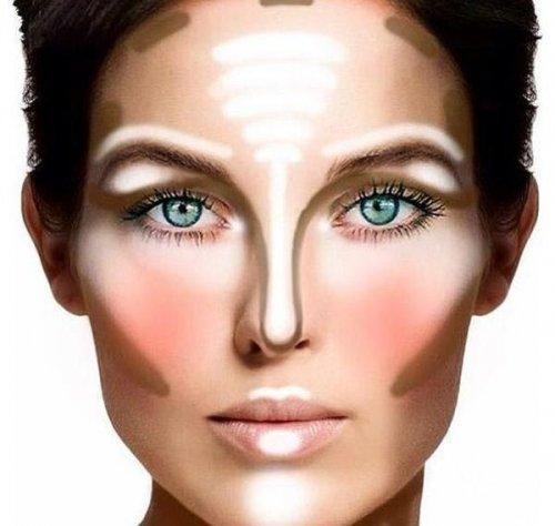 меняем внешность макияжем