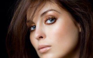 Тонкости макияжа для шатенок по цвету глаз