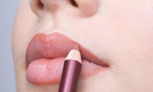 Как правильно красить губы используя карандаш