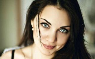 Идеи дневного макияжа для серо-голубых глаз
