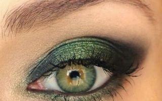 Какие тени выбрать для зеленых глаз